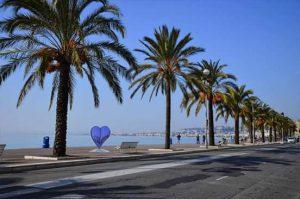 Promenade des anglais highlight of the private tour Nice