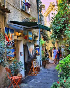 Mougins artists village french riviera