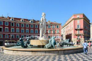 Nice plaza massena, city tour