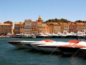 Saint Tropez harbor private tour