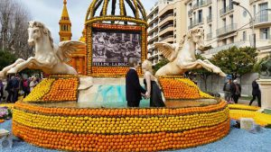 Menton, french riviera Lemon festival