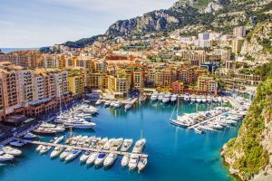 Moanco Harbor, Old town and monte carlo