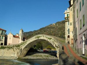 dolceaqua bridge panted by monet