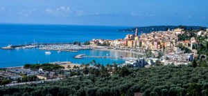 Menton old harbor and sea view guided tour