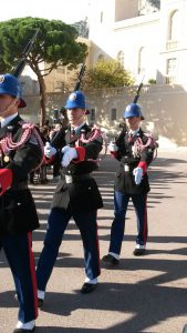 Monaco private tour see the changing of the guards before the Grimaldi palace