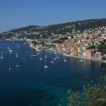 Villefranche bay french riviera