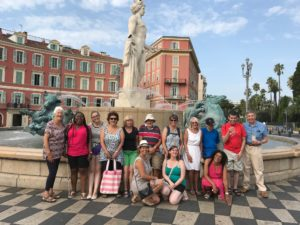 discover Nice old town, with locla expert tour guide cécile art and tours