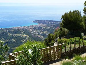 Sainte Agnes highest village of the coast, guided tour