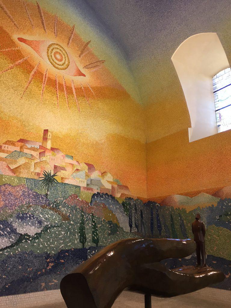 Folon chapel, ST paul de vence