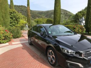 Brand new vehicle for your private tours of the french riviera